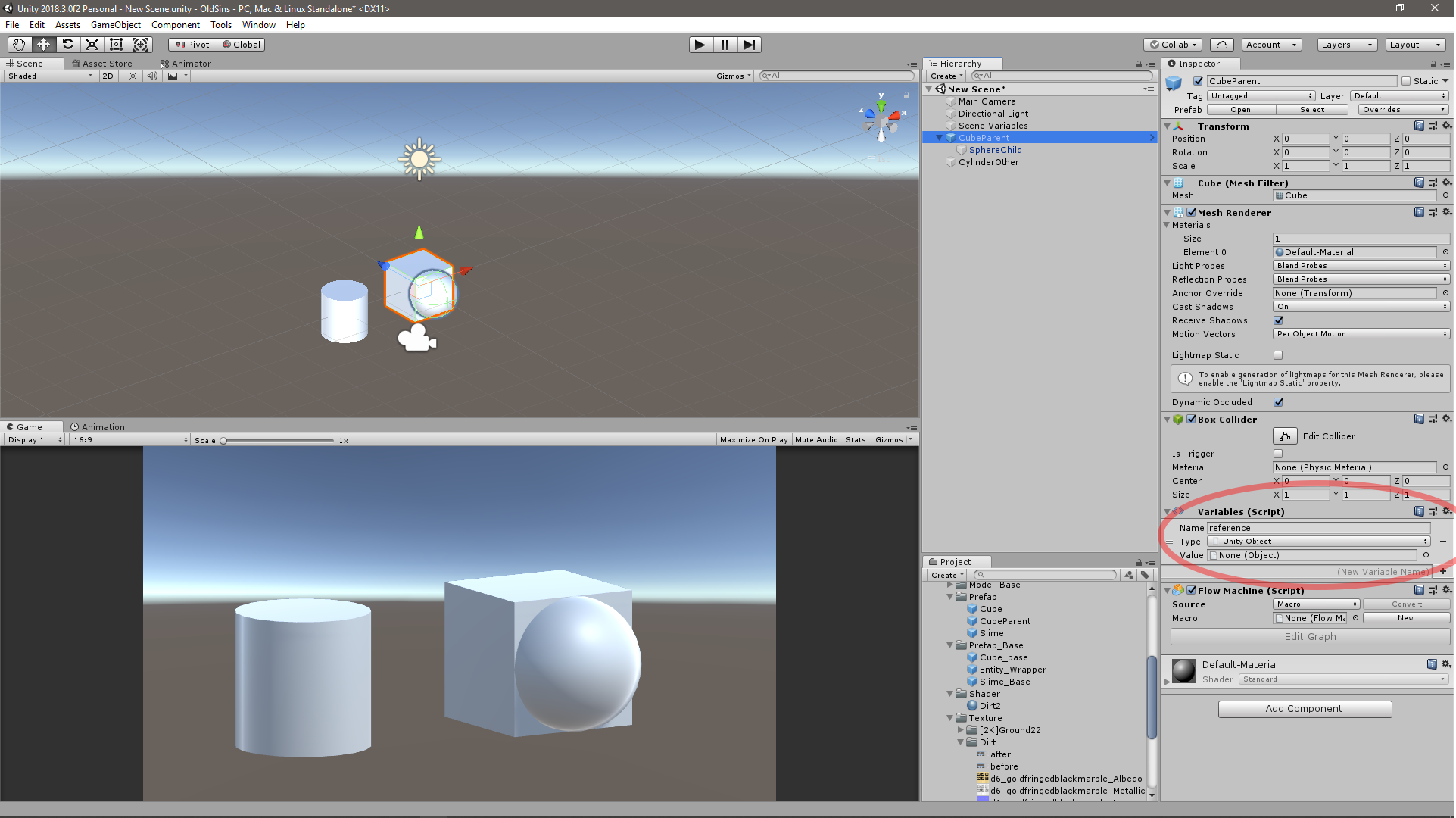 Unity Object picker in prefab isolation mode allows scene