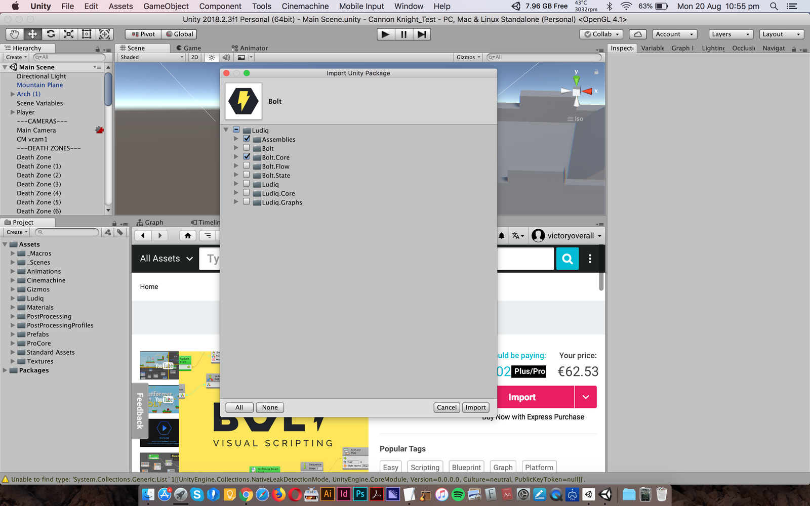 Unity Camera Not Showing Anything